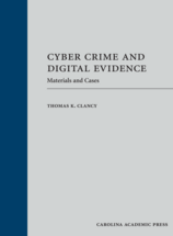 Cyber Crime and Digital Evidence book jacket