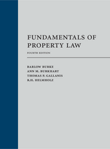 Fundamentals of Property Law book jacket