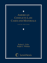 American Conflicts Law book jacket