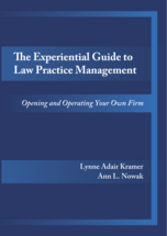 The Experiential Guide to Law Practice Management book jacket