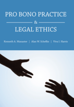 Pro Bono Practice and Legal Ethics book jacket