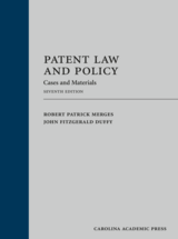 Patent Law and Policy book jacket