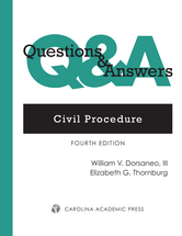 Questions & Answers: Civil Procedure book jacket