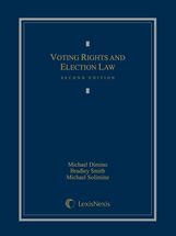 Voting Rights and Election Law book jacket