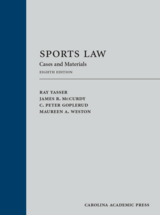 Sports Law book jacket