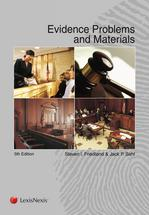 Evidence Problems and Materials book jacket