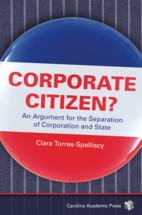 Corporate Citizen? book jacket