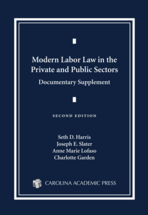 Modern Labor Law in the Private and Public Sectors Documentary Supplement book jacket