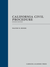 California Civil Procedure, Fourth Edition