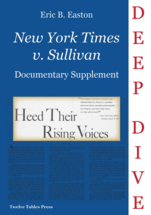 <em>New York Times v. Sullivan</em> book jacket