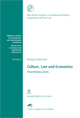 Culture, Law and Economics