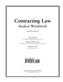 Contracting Law Workbook jacket