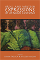 Oral and Written Expressions of African Cultures jacket
