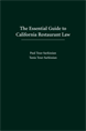 The Essential Guide to California Restaurant Law jacket