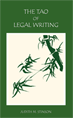 The Tao of Legal Writing jacket