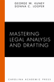 Mastering Legal Analysis and Drafting jacket