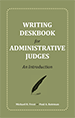 Writing Deskbook for Administrative Judges jacket