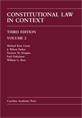 Constitutional Law in Context, Volume 2 jacket