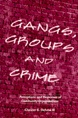 Gangs, Groups and Crime jacket