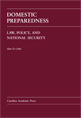 Domestic Preparedness (Paperback) jacket