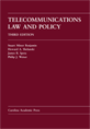 Telecommunications Law and Policy jacket