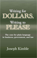 Writing for Dollars, Writing to Please jacket