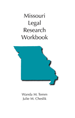 Missouri Legal Research Workbook jacket