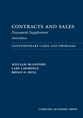 Contracts and Sales Document Supplement jacket