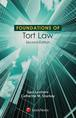 Foundations of Tort Law jacket