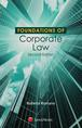 Foundations of Corporate Law jacket