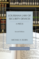 Louisiana Law of Security Devices, A Précis jacket