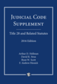 Judicial Code Supplement, 2016 Edition
