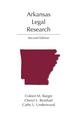 Arkansas Legal Research jacket