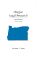 Oregon Legal Research jacket