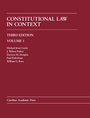 Constitutional Law in Context, Volume 1 (Paperback Printing) jacket