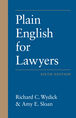 Plain English for Lawyers jacket