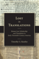 Lost in Translations jacket