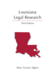 Louisiana Legal Research jacket