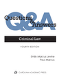 Questions & Answers: Criminal Law jacket