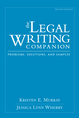 The Legal Writing Companion jacket