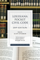 Louisiana Pocket Civil Code, 2019 Edition jacket