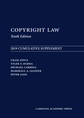 Copyright Law: 2019 Cumulative Supplement jacket