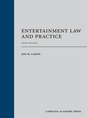 Entertainment Law and Practice jacket