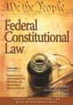 Federal Constitutional Law (Volume 1) jacket