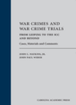 War Crimes and War Crime Trials jacket