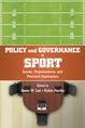 Policy and Governance in Sport jacket
