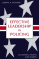 Effective Leadership in Policing jacket