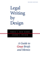 Legal Writing by Design jacket