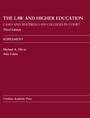 Supplement to The Law and Higher Education: Cases and Materials on Colleges in Court, Third Edition jacket