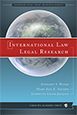 International Law Legal Research jacket
